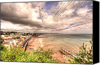 Raf Canvas Prints - Dawlish Air Show 2012 Canvas Print by Rob Hawkins