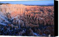 Thor Canvas Prints - Dawn in Bryce Canyon Canvas Print by Pierre Leclerc