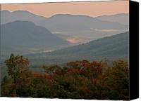 Autumn Canvas Prints - Dawn in the White Mountains Canvas Print by Juergen Roth