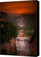 Inspiration Point Canvas Prints - Dawn Inspiration Canvas Print by Neil Shapiro