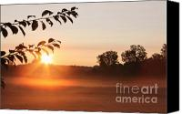 Daybreak Canvas Prints - Dawn of a Brand New Day  Canvas Print by Cathy  Beharriell
