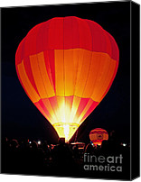 Albuquerque Canvas Prints - Dawn Patrol Balloon Fiesta Canvas Print by Jim Chamberlain