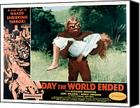 Subject Poster Art Canvas Prints - Day The World Ended, The, Lori Nelson Canvas Print by Everett