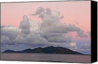 Van Dyke Canvas Prints - Daybreak Sky Canvas Print by Roupen  Baker