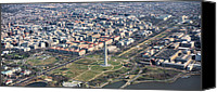 The White House Canvas Prints - DC from Above Canvas Print by JC Findley