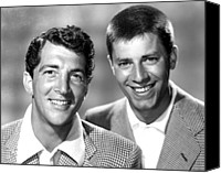 Team Canvas Prints - Dean Martin And Jerry Lewis, C. Early Canvas Print by Everett