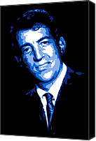 Frank Sinatra Canvas Prints - Dean Martin Canvas Print by Dean Caminiti