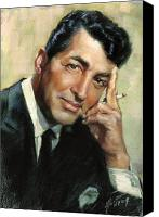 Dean Canvas Prints - Dean Martin Canvas Print by Ylli Haruni