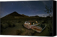Abandon Canvas Prints - Death Valley Drive-In Canvas Print by Sean Foster