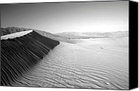 Death Valley National Park Canvas Prints - Death Valley Dunes Canvas Print by Gary Koutsoubis