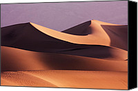 Dunes Canvas Prints - Death Valley Dunes Canvas Print by Matt  Trimble