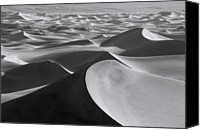 Death Valley National Park Canvas Prints - Death Valley Landscape Canvas Print by Bruce Heinemann