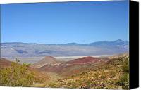 Rolling Hills Canvas Prints - Death Valley National Park - Eastern California Canvas Print by Christine Till