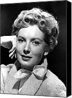 1950s Portraits Canvas Prints - Deborah Kerr, C. Early-mid 1950s Canvas Print by Everett