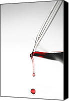 Spilled Wine Canvas Prints - Decanter Canvas Print by Frank Tschakert