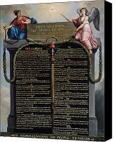 Human Painting Canvas Prints - Declaration of the Rights of Man and Citizen Canvas Print by French School