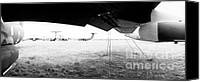 Regeneration Photo Canvas Prints - Decommissioned C-141s Canvas Print by Jan Faul
