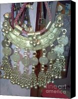 Old Jewelry Canvas Prints - Decoration Piece Canvas Print by Dinesh Rathi