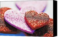 Adore Photo Canvas Prints - Decorative Hearts Canvas Print by Ray Laskowitz - Printscapes