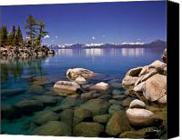 Lake Canvas Prints - Deep Looks Canvas Print by Vance Fox