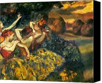 Four Women Canvas Prints - DEGAS: FOUR DANCERS, c1899 Canvas Print by Granger