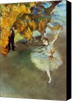 Star Canvas Prints - Degas: Star, 1876-77 Canvas Print by Granger