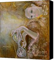 Live Art Canvas Prints - Deja vu Canvas Print by Dorina  Costras