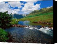 Field Sports Canvas Prints - Delphi Fishery, Co Mayo, Ireland Canvas Print by The Irish Image Collection
