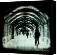 Time Travel Canvas Prints - Delusions Canvas Print by Andrew Paranavitana