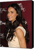 Four Women Canvas Prints - Demi Moore At Arrivals For Varietys 3rd Canvas Print by Everett