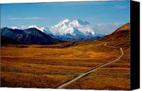 Featured Canvas Prints - Denali Canvas Print by Graham Clark