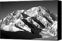 Denali Canvas Prints - Denali -Mt. Mckinely Canvas Print by Alasdair Turner