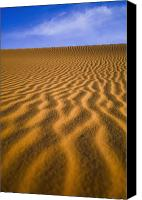 Moroccan Canvas Prints - Desert Canvas Print by Axiom Photographic