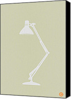 Iconic Lamp Design Canvas Prints - Desk Lamp Canvas Print by Irina  March
