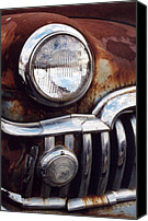Kansas City Canvas Prints - DeSoto Headlight Canvas Print by Crystal Nederman