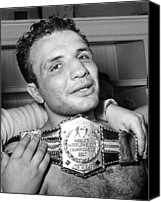 Csx Canvas Prints - Detroit, Mich. Jake Lamotta Is Awarded Canvas Print by Everett