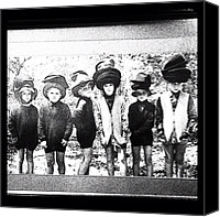 Children Photo Canvas Prints - Deutsche Kinder Canvas Print by Natasha Marco