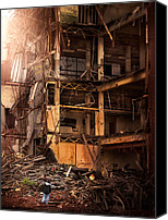 Remington Canvas Prints - Devastation Canvas Print by Robert Mirabelle