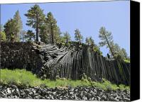 Stack Canvas Prints - Devils Postpile - Talk about natural wonders Canvas Print by Christine Till
