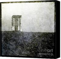 Ploughed Canvas Prints - Devocote Canvas Print by Bernard Jaubert