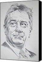 Robert Deniro Canvas Prints - Di Nero Canvas Print by Rich Kelly