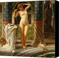 Orientalist Canvas Prints - Diadumene Canvas Print by Sir Edward John Poynter