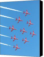 Raf Canvas Prints - Diamond Nine Canvas Print by Paul Cowan