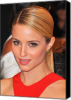 Dianna Agron Canvas Prints - Dianna Agron At Arrivals For Alexander Canvas Print by Everett