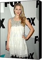 My House Nightclub Canvas Prints - Dianna Agron At Arrivals For Fox Tca Canvas Print by Everett