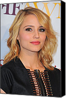Dianna Agron Canvas Prints - Dianna Agron In Attendance For 2nd Canvas Print by Everett