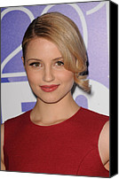 Dianna Agron Canvas Prints - Dianna Agron In Attendance For Fox 2010 Canvas Print by Everett