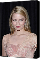Dianna Agron Canvas Prints - Dianna Agron In Attendance For The 9th Canvas Print by Everett