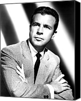 Publicity Shot Canvas Prints - Dick Powell, Mid-late 1940s Canvas Print by Everett
