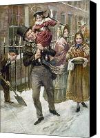 Literature Canvas Prints - Dickens: A Christmas Carol Canvas Print by Granger